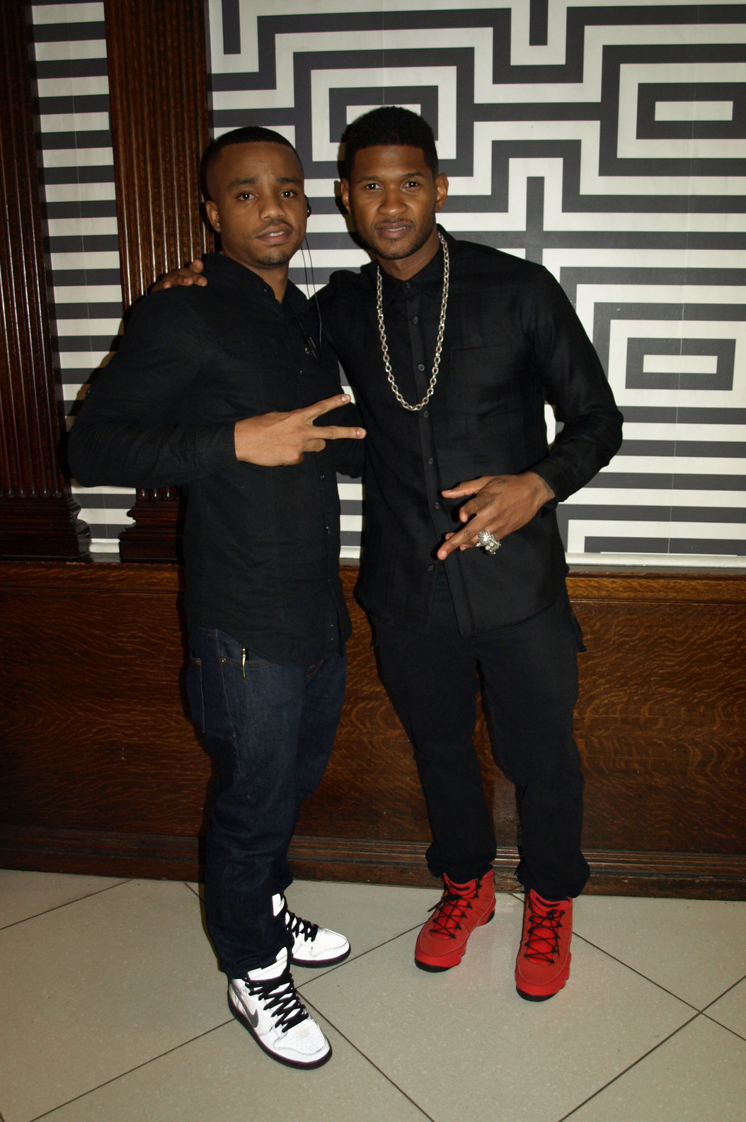 Usher  Philadelphia: UBIQPhotographer: Nasan Fluellen.http://hellophilly.tumblr.com/ #Blackfashion FacebookTwitter @BlackFashionbyj