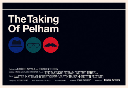 The Taking of Pelham One Two Three by onetwentythree