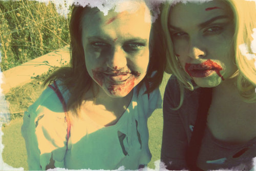 At The #Utah #zombiechase!