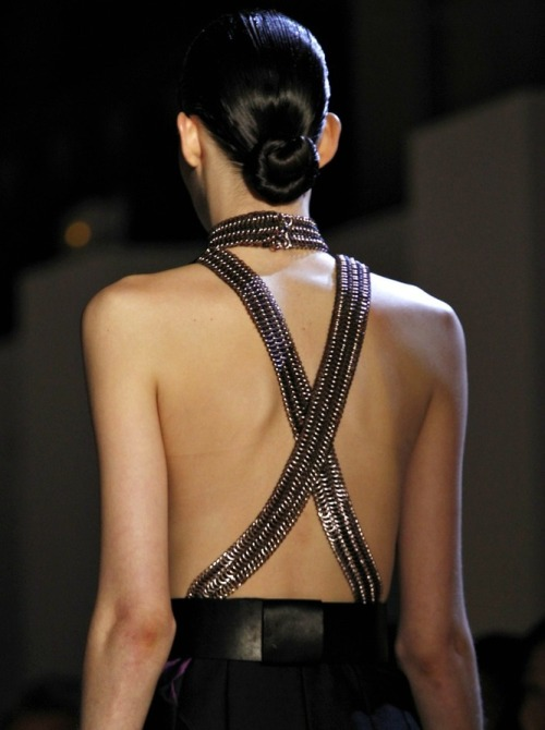 Yves Saint Laurent f/w 2012