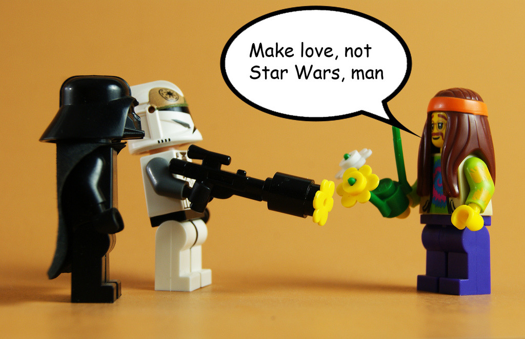 Love not Star Wars (by zaberca)