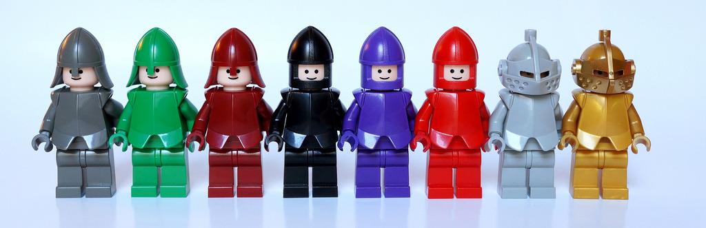 Color Knights (by Vanjey_Lego)