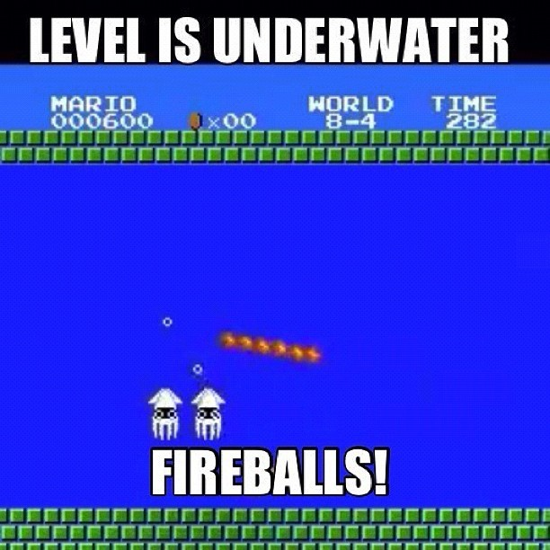 #Mario Logic - #gaming #nintendo #lol #meme #lmfao #wtf