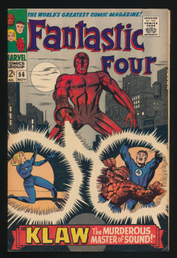 Fantastic Four #56(Nov. 1966)