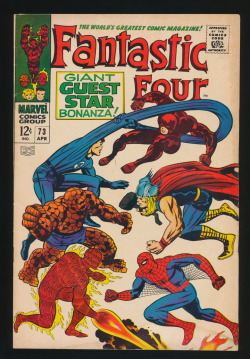 Fantastic Four #73(Apr. 1968)