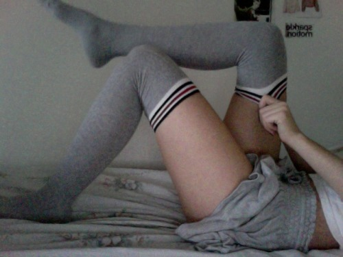 ugh knee socks are the cutest
