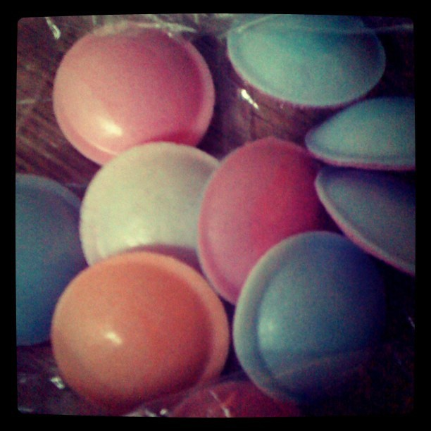 Flying Saucers, Best Candy EVER!  Circa 1970s.