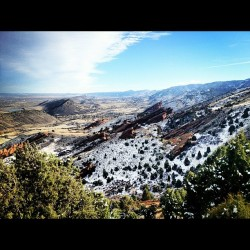 Red rocks #mountains
