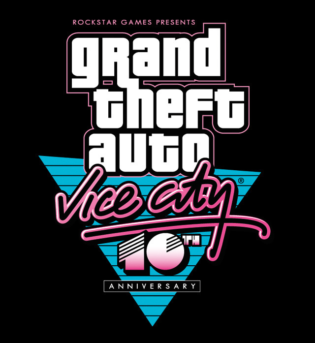 Grand Theft Auto: Vice City 10th Anniversary Edition No point acting surprised.  As we recently posted, Vice City's 10th anniversary is coming up on October 29th.  Since Rockstar pulled an anniversary release of Grand Theft Auto III last year for iOS and Android devices, it was a near-foregone conclusion that they would do the same for Vice City this year.  To celebrate the 10th anniversary, there will be a series of commemorative assets released, including never-before-seen artwork and a brand new anniversary trailer highlighting some of the most iconic scenes and music from the game.  In addition, a limited run of collectible promotional items will be made available for purchase through the Rockstar Warehouse, with select items also available via online giveaways. In conjunction with the anniversary, we're pleased to announce that we'll be releasing an Anniversary Edition of Grand Theft Auto: Vice City for select iOS and Android devices later this fall. This upcoming version will bring the full experience to mobile devices, featuring native high-resolution graphics and several enhancements unique to the iOS and Android platforms.  Look for all this in the coming weeks, including a list of compatible mobile devices for the game. [Via Rockstar]