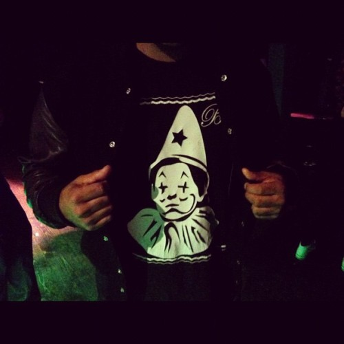 Jason reppin @clothsurgeon & @houseofbilliam last night at Jazzy Jeff