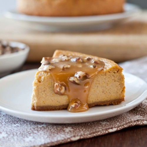 bakeddd:  pumpkin ale cheesecake with beer pecan caramel sauce click here for recipe