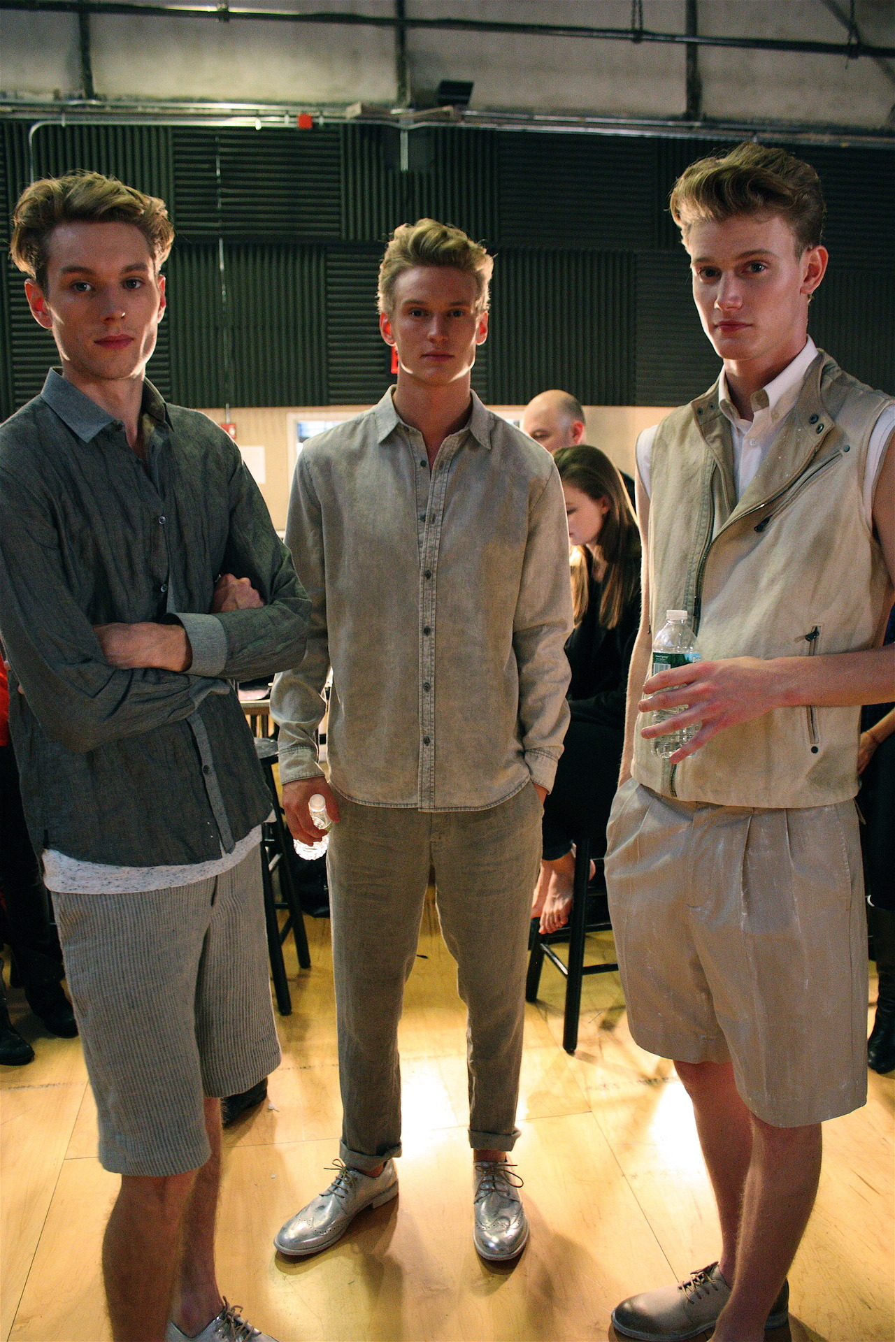 Male Models Backstage at Kenneth Cole Spring 2013 Preview Find us: FACEBOOK | TWITTER | BLOGLOVIN | PINTEREST | LOOKBOOK