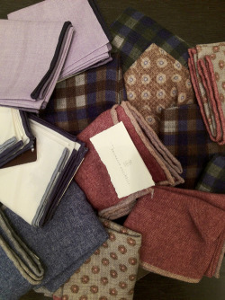 acuratedman:  Brunello Cucinelli Pocket Squares