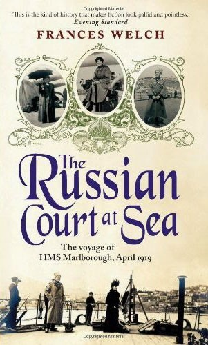 coverspy:  The Russian Court at Sea, Frances Welch (M, 60s, dark brown eyes, cropped hair, bouquet of flowers, M15 Select bus) http://bit.ly/Tnb33A