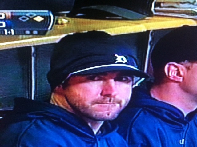ilovequintinberry:  Judging you from the dugout    unghghgfffffffff