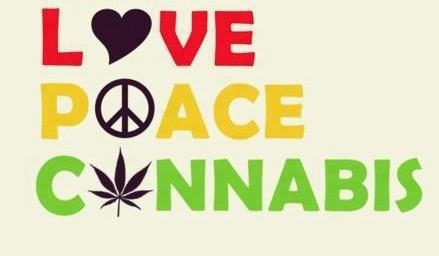 arcadia-dreams:  Love, peace and cannabis! That's life.