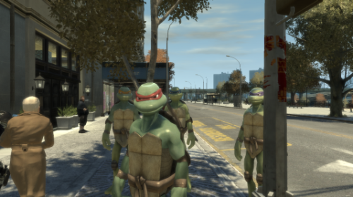 Videos: Modder Brings Assassin's Creed, Ninja Turtles, Mass Effect & More To 'Grand Theft Auto'