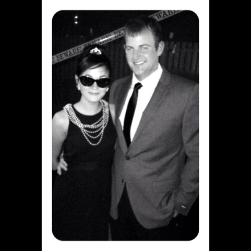 Holly and Paul! 💑👫💗 via @frametastic #halloween #breakfastattiffanys #costume #saturday #party #igersmanila #igersflorida #igers #audreyhepburn