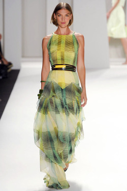 Arizona Muse at Carolina Herrera S/S 2012.