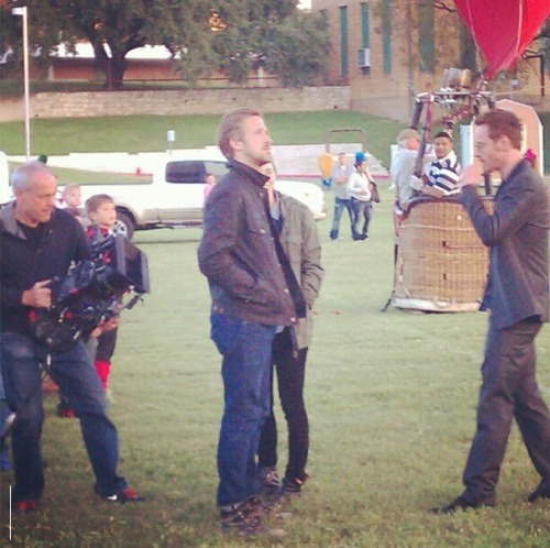 MICHAEL, RYAN & ROONEY FILMING AT THE TEXAS SCHOOL FOR THE DEAF ON OCTOBER 27 Source