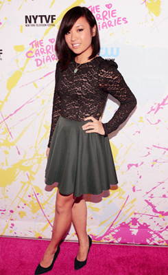 "fuckyeahcarriediaries:  ""The Carrie Diaries"" Premiere - 2012 New York Television Festival"