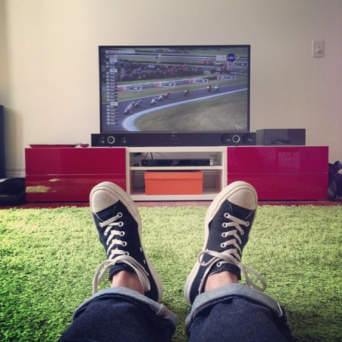 MotoGP on (my) grass..