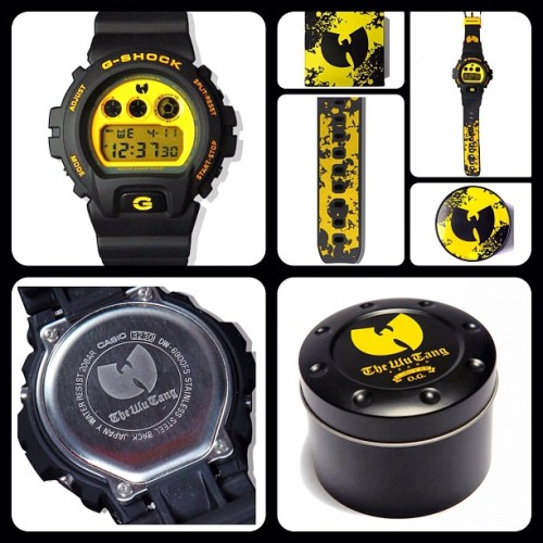 @wutangbrandltd x @gshock. In detail. #collab for the 12' wait to see whats coming in #2013 #forever