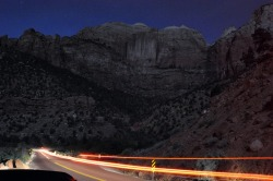 Zion After Dark