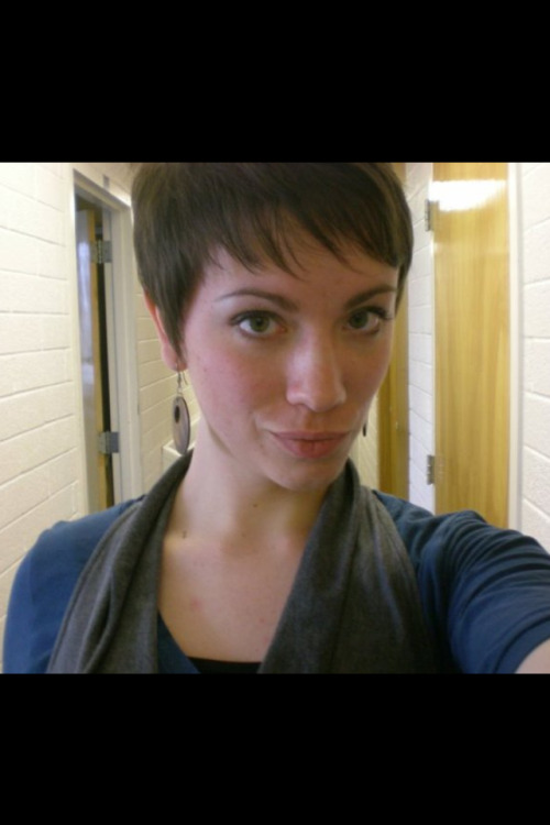 Throwback to my shortest pixie.