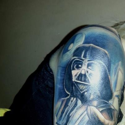 The start of my Star Wars tattoo. :3