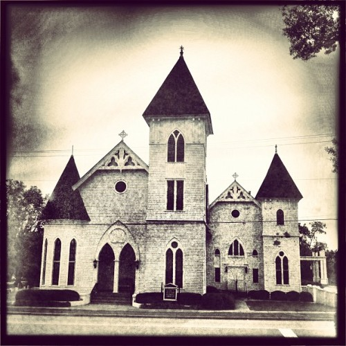Beautiful church in west georgia. #historic #church #architecture #faith