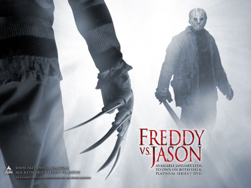 'Bout to throw me on some Freddy vs Jason for this fine Halloween weekend Saturday night.