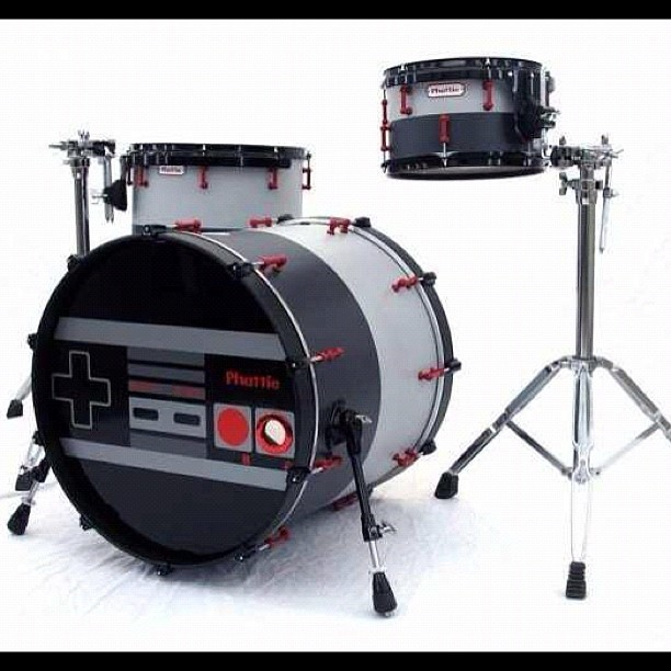 #nintendo #drums #nes #classic #gaming #sick #cool #ftw