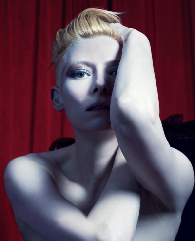 bohemea:  Tilda Swinton by Mario Sorrenti, 2012