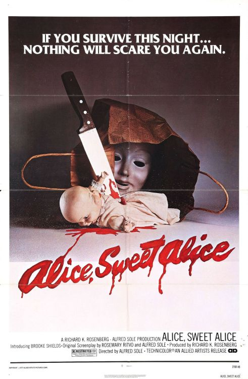 Films in 2012—#311 Alice Sweet Alice (Alfred Sole, 1976)