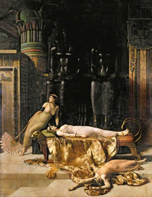 labellefilleart:   The Death of Cleopatra, John Maler Collier