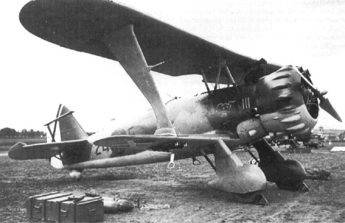 Spanish Civil War Sunday: photo #1…the Henschel Hs-123 operated by the Spanish Nationalists and the German Condor Legion
