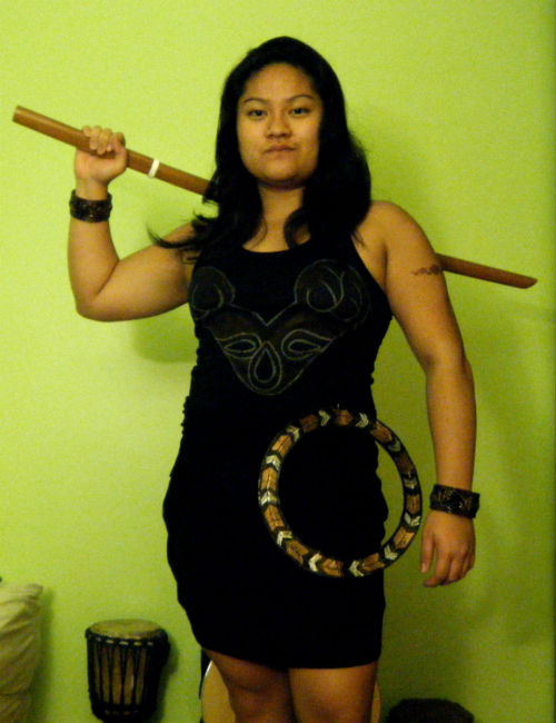 Happy Halloween!  GOAL: be as fit and bad ass as Xena!