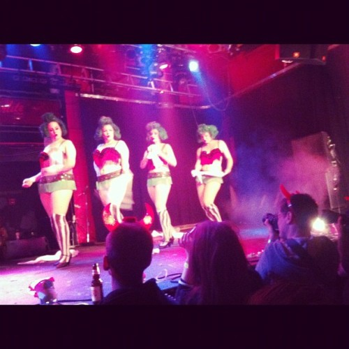 Stripping oompla loompah's lol (at The Starlite Room)