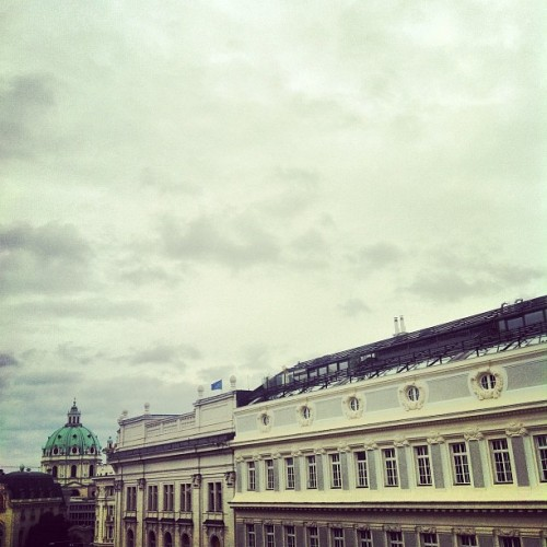 Good morning Vienna! (at Hotel am Konzerthaus)