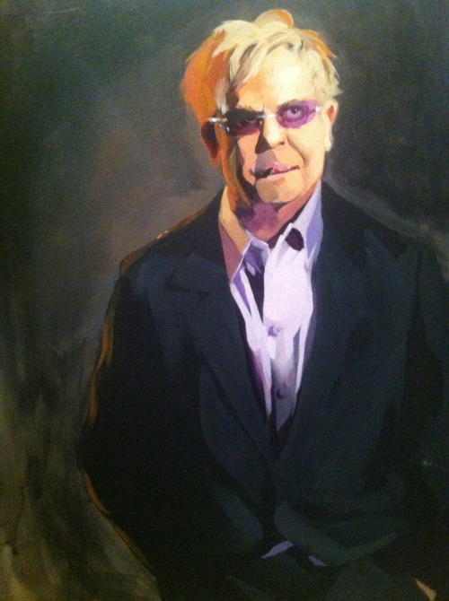 Portrait of Elton John!