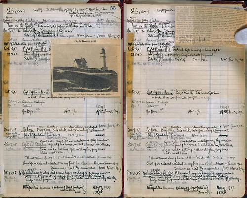 fuckyeahmanuscripts:  Edward Hopper's sketchbook