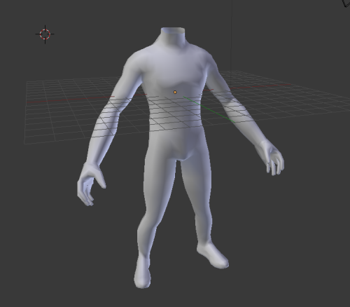 Working on a game character