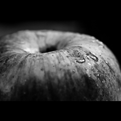 359/365. Apple Monochrome. on Flickr.I'm always torn between colour and monochrome. If you ask me, I like monochrome way more than colour (well, who doesn't). Especially this one. Now I'm a huge critic of my pictures but I like this one for the postery feel of it. Might as well have this blown up on canvas for myself. Who knows! Facebook | Photo Blog | Flickr  | 500px