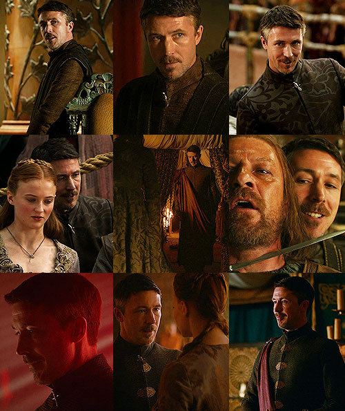 "❖ 30 Days of Game of Thrones/ASOIAF ChallengeDay 1 | Your favourite male character: Petyr Baelish""The Gods only know what game Littlefinger is playing."""