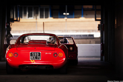 Dino or F40? by Alexis Goure on Flickr.Dino or F40?