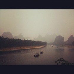 #Yangshuo bike ride by the river #china
