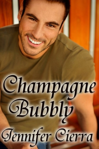Champagne Bubbly by Jennifer Cierra now available in e-book format! Dan Rorney, assistant fashion editor at Cameron Magazine in Long Beach, CA, has spared no expense — and no name brand — in making sure his 30th birthday cum first book release party will be a blast. Five minutes before the party kicks off, everything's looking perfect … until his brother texts to say he can't bring the champagne.Dan panics, but he finally manages to locate an off-sale liquor shop willing to deliver champagne at the drop of a hat. He mingles nervously with his guests as he waits for the delivery man to show up … who turns out to be far more delicious than the drink he carries. Excerpt & Buy Link.