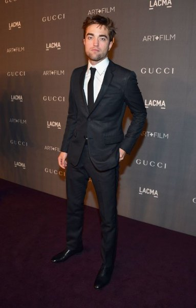 Robert Pattison at The Los Angeles County Museum of Art's annual Art + Film Gala on Saturday night…