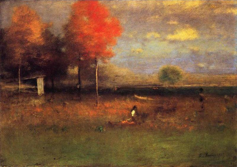 George Inness  |  Indian Summer, c. 1894